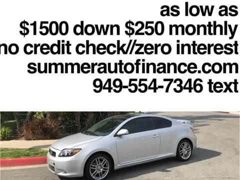 2010 Scion tC for sale in Costa Mesa, CA