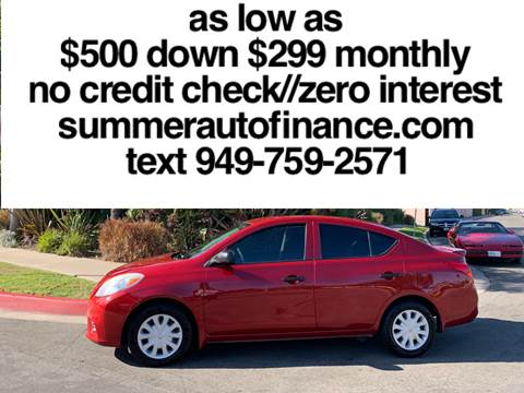 Costa Mesa Nissan >> Nissan For Sale In Costa Mesa Ca Summer Auto Finance