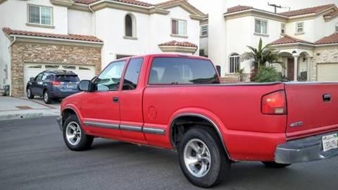 2000 Chevrolet S-10 for sale in Costa Mesa, CA