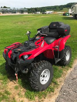 2013 Yamaha Grizzly for sale at Lifestyle Performance Motors in Auburn ME