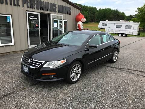 2010 Volkswagen CC for sale at Lifestyle Performance Motors in Auburn ME