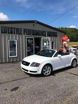 2003 Audi TT for sale at Lifestyle Performance Motors in Auburn ME