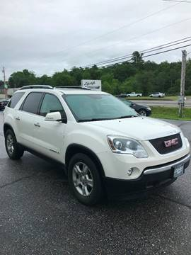 2008 GMC Acadia for sale at Lifestyle Performance Motors in Auburn ME