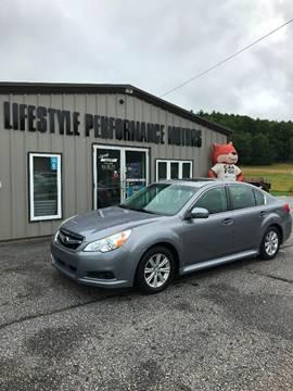 2010 Subaru Legacy for sale at Lifestyle Performance Motors in Auburn ME