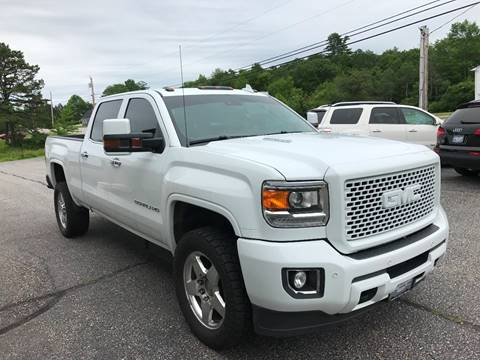 2015 GMC Sierra 2500HD for sale at Lifestyle Performance Motors in Auburn ME