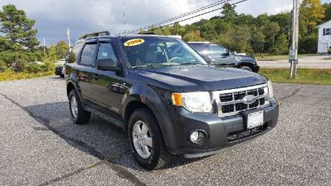 2008 Ford Escape for sale at Lifestyle Performance Motors in Auburn ME
