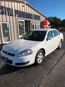 2011 Chevrolet Impala for sale in Auburn, ME