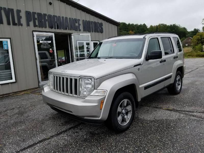 2008 Jeep Liberty For Sale At Lifestyle Performance Motors In Auburn ME