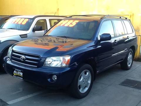 2006 Toyota Highlander for sale in South Gate, CA