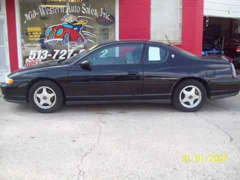 2001 Chevrolet Monte Carlo for sale in Middletown, OH