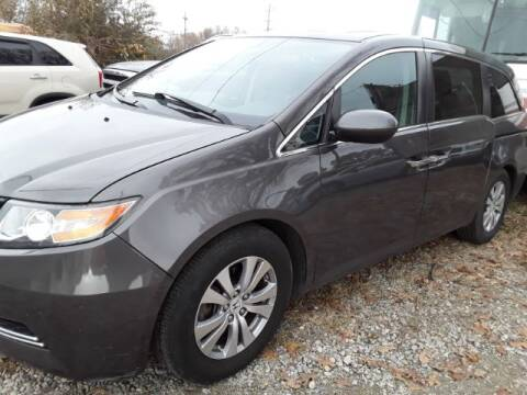 2015 Honda Odyssey for sale at Midwestern Auto Sales in Middletown OH
