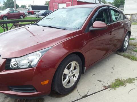 2013 Chevrolet Cruze for sale at Midwestern Auto Sales in Middletown OH