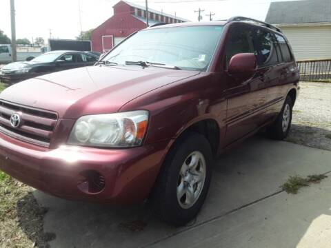 2006 Toyota Highlander for sale at Midwestern Auto Sales in Middletown OH