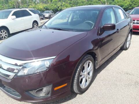 2012 Ford Fusion for sale at Midwestern Auto Sales in Middletown OH