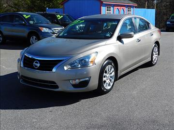 2013 Nissan Altima for sale in Mooresville, NC
