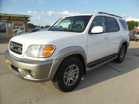 2004 Toyota Sequoia for sale in Arlington, TX