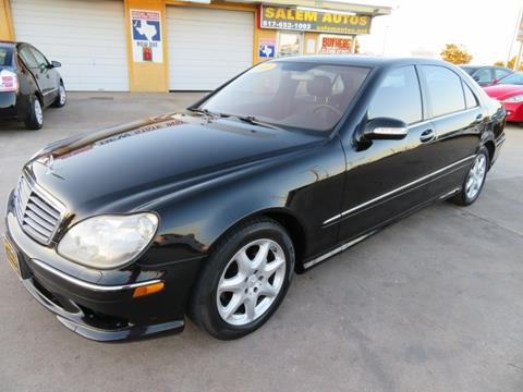 2006 Mercedes-Benz S-Class for sale in Arlington, TX