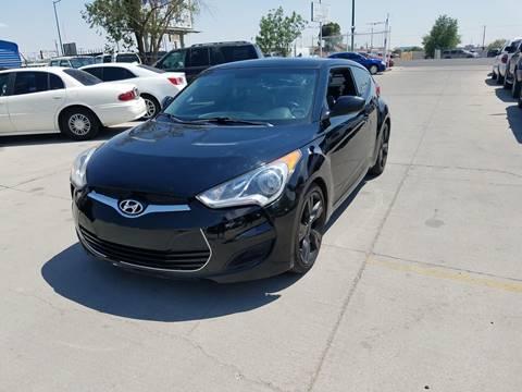 2012 Hyundai Veloster for sale at LA LOMA USED CARS in El Paso TX
