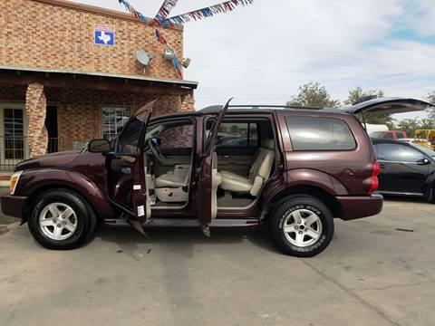2004 Dodge Durango for sale at LA LOMA USED CARS in El Paso TX