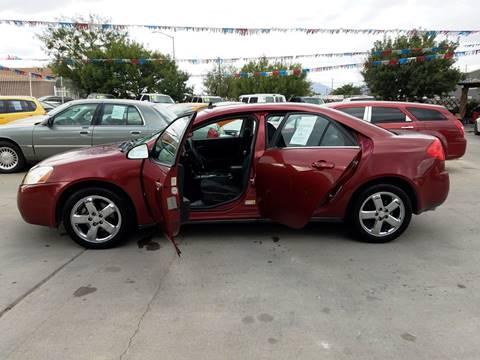 2008 Pontiac G6 for sale at LA LOMA USED CARS in El Paso TX