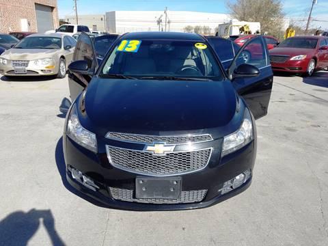 2013 Chevrolet Cruze for sale at LA LOMA USED CARS in El Paso TX