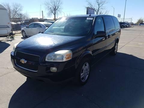 2006 Chevrolet Uplander for sale at LA LOMA USED CARS in El Paso TX