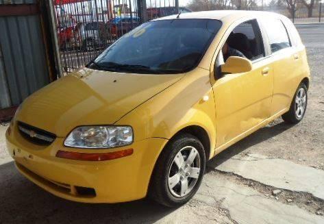2006 Chevrolet Aveo for sale at LA LOMA USED CARS in El Paso TX