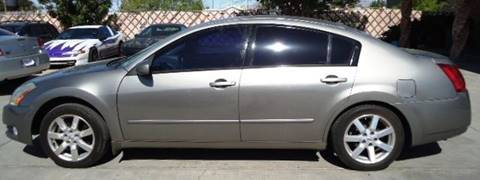 2004 Nissan Maxima for sale at LA LOMA USED CARS in El Paso TX