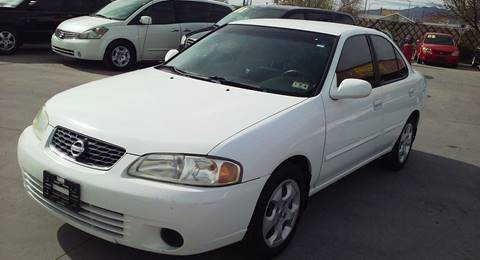 2003 Nissan Sentra for sale at LA LOMA USED CARS in El Paso TX