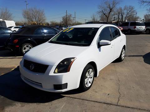 2007 Nissan Sentra for sale at LA LOMA USED CARS in El Paso TX