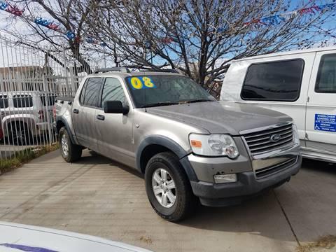 2008 Ford Explorer Sport Trac for sale at LA LOMA USED CARS in El Paso TX