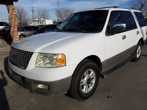 2003 Ford Expedition for sale at LA LOMA USED CARS in El Paso TX