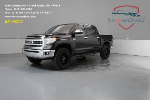 2014 Toyota Tundra for sale at Elvis Auto Sales LLC in Grand Rapids MI