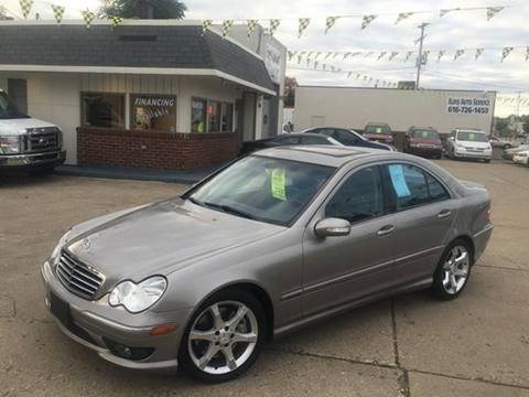 2007 Mercedes-Benz C-Class for sale at Elvis Auto Sales LLC in Grand Rapids MI
