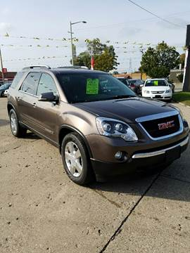 2008 GMC Acadia for sale at Elvis Auto Sales LLC in Grand Rapids MI