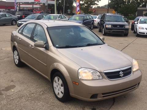 2007 Suzuki Forenza for sale at Elvis Auto Sales LLC in Grand Rapids MI