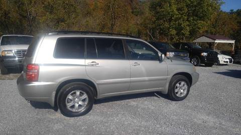 2003 Toyota Highlander for sale at Magic Ride Auto Sales in Elizabethton TN