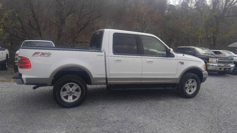 2002 Ford F-150 for sale at Magic Ride Auto Sales in Elizabethton TN