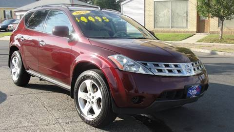 2005 Nissan Murano for sale at CT AutoFair in West Hartford CT
