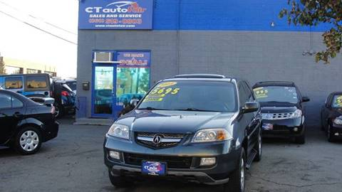 2004 Acura MDX for sale at CT AutoFair in West Hartford CT