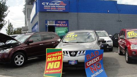 2010 Nissan Murano for sale at CT AutoFair in West Hartford CT