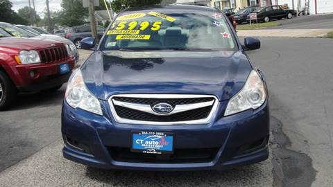 2010 Subaru Legacy for sale at CT AutoFair in West Hartford CT