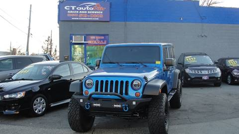 2011 Jeep Wrangler Unlimited for sale at CT AutoFair in West Hartford CT