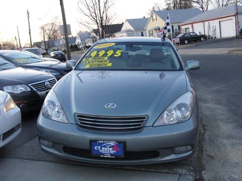 2004 Lexus ES 330 for sale at CT AutoFair in West Hartford CT