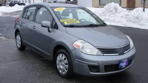 2007 Nissan Versa for sale at CT AutoFair in West Hartford CT