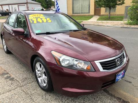 2010 Honda Accord for sale at CT AutoFair in West Hartford CT