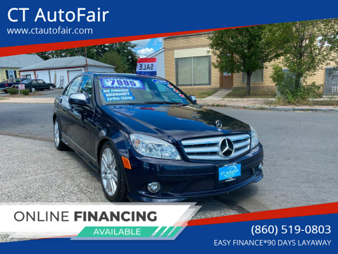 2009 Mercedes-Benz C-Class for sale at CT AutoFair in West Hartford CT