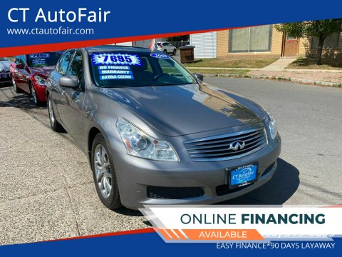 2008 Infiniti G35 for sale at CT AutoFair in West Hartford CT