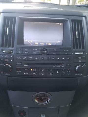 2005 Infiniti FX45 for sale at Used Cars for Sale in Cicero IL