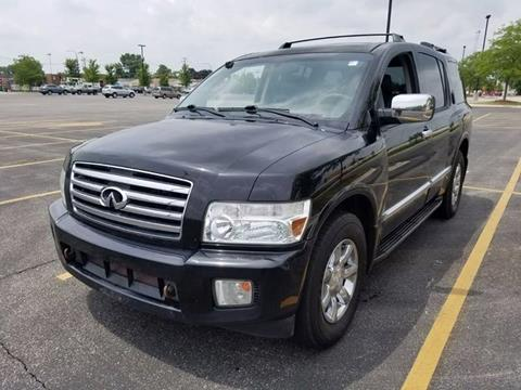 2005 Infiniti QX56 for sale at Used Cars for Sale in Cicero IL
